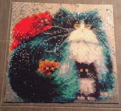 Finished another one for chloé #diamondpainting#cats#fun#loveit