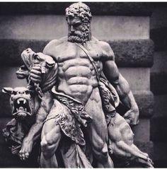 Ancient Statues Greek Gods - Female Statues Aesthetic - Poseidon Statues Aesthetic - - Statues Of Liberty Skull Ancient Greek Sculpture, Greek Statues, Ancient Art, Statue Tattoo, Hercules Tattoo, Hades Tattoo, Greek Mythology Tattoos, Greek Art, Classical Art