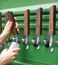I want to buy these tap handles and attach them to barrels of Kool-Aid and Sunny D. -D