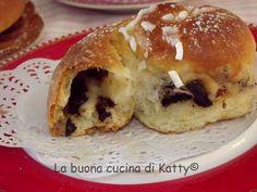 La buona cucina di Katty: Brioche chiocciole al cioccolato..... fatte da me!!!