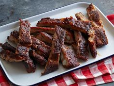 Kansas City Style Pork Ribs