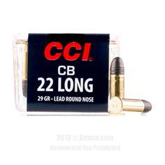 CCI 22 Long Ammo - 100 Rounds of 29 Grain LRN Ammunition #22Long #22LongAmmo #CCI #CCIAmmo #CCI22Long #LRN