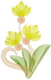 Air flower free machine embroidery design 2. Machine embroidery design…