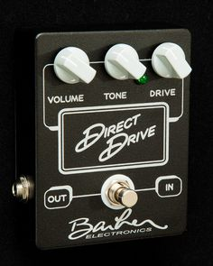 Barber Direct Drive : Barber Direct Drive Low Gain Overdrive