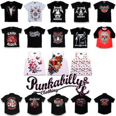 New categories added today, Children T-Shirts & Boys Work Shirt. Those shirt are absolutely amazing, your child will looks like a real rock-star with those shirts. All designs available in sizes for 2-6 years old.  Check our new Children T-shirt category in here:  http://www.punkabillyclothing.com/children-tshirts-c-39 Check our new boys work shirts in here: http://www.punkabillyclothing.com/boys-work-shirts-c-40  #RockabillyBabies #BabyClothingRockabilly #Punkabilly #PunkabillyClothing