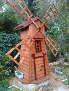 Trendy Woodworking Ideas Decor Old Windows 16 Ideas Old Window Projects, Wooden Projects, Wooden Windmill, Old Windows, Le Moulin, Diy Door, Bird Houses, Woodworking Projects, Garden Design