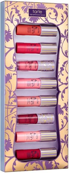 Kiss & Belle Deluxe LipSurgence Lip Set is a curated collector's set of Tarte's award-winning LipSurgence Lip Tints and Lip Glosses, all in charming, new limited-edition shades. A $100 value!.