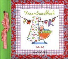 Hoe leuk is dat! In het Kraambezoekboek van Pauline Oud kan de visite een leuk berichtje achterlaten voor je baby en voor jou!