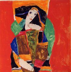 Portrait of a woman, 1912 / Egon Schiele