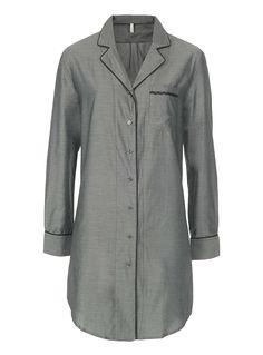 La chemise de nuit coton fil à fil