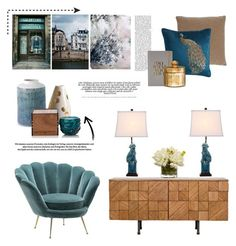 """""""19.07.2017"""" by desdeportugal ❤ liked on Polyvore featuring interior, interiors, interior design, home, home decor, interior decorating, West Elm, Kevin O'Brien, Pier 1 Imports and Caleb Siemon"""