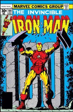 Iron Man Vol. Iron Man (Anthony Edward Tony Stark) is a fictional character, a superhero in the Marvel Comics Universe. Iron Man Comic Books, Marvel Comic Books, Comic Books Art, Book Art, Comic Superheroes, Superman, Batman, Clark Kent, Vintage Comic Books