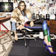 Jenna Lyons Made Undone Cool. Here's How