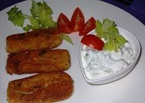 Smažení šišouni pro mlsouny Meat, Chicken, Food, Meal, Eten, Meals, Buffalo Chicken, Cubs