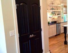 black doors - 11 Reasons to Paint Your Interior Doors Black