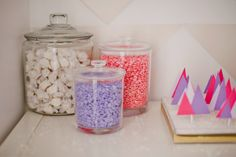 Winter Wonderland Birthday Dessert Table by Shauna Younge | Sweet Tooth (pic: Angela Rose Photography)