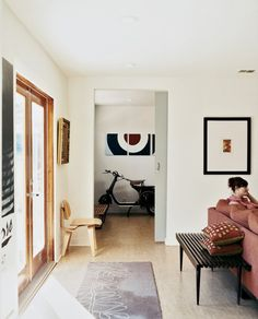 Another terrific simple space.