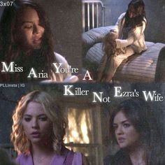 Maya Knew, knew what? still not sure what maya knew, who is? maybe that ali was alive?