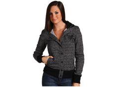 Fox Racing Fox Siege Snap Hoodie Women's Sweatshirt - Black