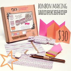 Make your own Christmas Bonbon Workshop run by TMOD at The Finders Keepers Markets Dec 6th & 7th 2013 http://tmod.com.au/product/diy-bonbon-kit