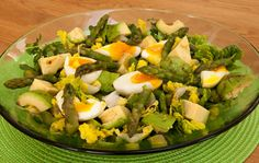 Asparagus, avocado and watercress salad - Quick, easy and nourishing springtime lunch or supper
