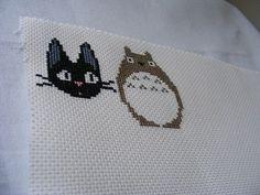Miyazaki Cross Stitch Patterns by hardcorestitchcorps on Etsy, $3.50