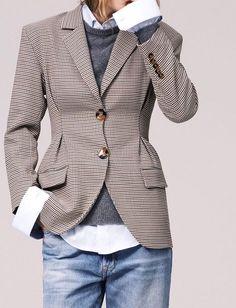 Oui à la rencontre entre style casual et pièce tailoring !