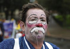 Colombia Clowns Protest