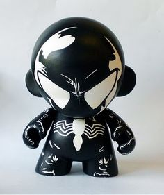 Black Spidey Munny*