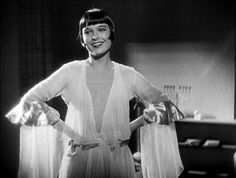 Louise Brooks, 1920s silent film star