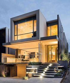 """273 curtidas, 1 comentários - Papo de Arquiteto (@papodearquiteto) no Instagram: """"Casa desenhada porD4 Architects"""""""