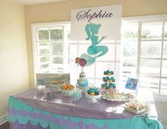"Mermaid birthday / Birthday ""Sophia's Mermaid Party "" 