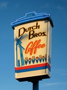 Dutch Bros. Coffee (Medford, OR) Where I had my first dutch bros. coffee (peppermint latte) my dad used to wake me up for high school with this drink.