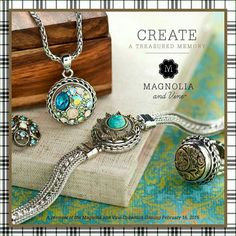 Immediately fell for Magnolia and Vine's jewelry. LOVE their stuff! Join my VIP group for specials and giveaways. PM if you want to party online or join my team. https://www.facebook.com/mv.marialindquist