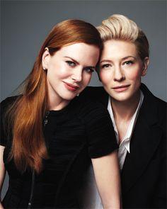 Nicole Kidman & Cate Blanchett