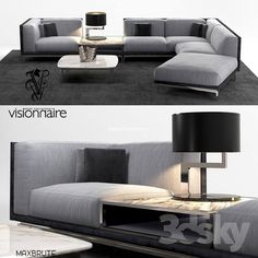 Modelle: Sofa - Visionary Legend L Sofagarnitur - Diy Wohnzimmer Ideen Sofa Furniture, Sofa Chair, Couch, L Sofa Set, 3d Modelle, Interior, Table, Portland, Home Decor