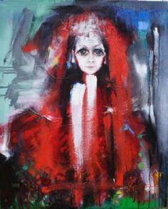 Grazyna TARKOWSKA - La Vierge folle - Peinture - Huile sur toile