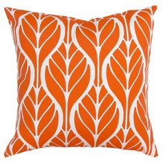 Toss Cushion   Walmart Canada Outdoor Cushions And Pillows, Bolster Cushions, Lumbar Throw Pillow, White Cushions, Decorative Cushions, Orange Pattern, Cushion Fabric, Walmart, Floral