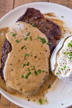 Steak Diane Recipes Steak Diane, the classic steakhouse entree made with cream, shallots, mustard and cognac is perfect for your special occasion meals. Grilled Steak Recipes, Meat Recipes, Cooking Recipes, Recipies, Cooking Beef, Venison Recipes, Copycat Recipes, Sauce Recipes, Yummy Recipes