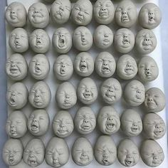 Abies wonderfully bizarre wip by johnsontsang art pottery ceramics baby babies doll dolls porcelain Clay Dolls, Art Dolls, Johnson Tsang, Porcelain Dolls For Sale, Fine Porcelain, Josephine, Baby Faces, Paperclay, Sculpture Clay