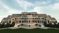 Luxury Mansion minecraft building ideas house design 4