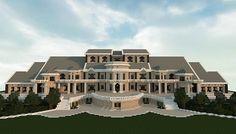 Luxury Mansion minecraft building ideas house design 4