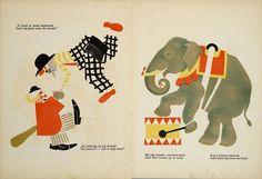 Circus book,Samuel Marchak & Vladimir Lebedev