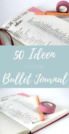 Du hast ein Bullet Journal, aber keine Ahnung wie du es füllen sollst? Keine Angst, dafür habe ich heute die perfekte Liste für dich! Jedes Bullet Journal ist individuell und es gibt unendlich viele Möglichkeiten eines zu füllen. Die einen mögen es lieber funktional, andere verwenden es für ganz persönliche Dinge und manche lieben es …