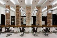 Aguavida hair & beauty by Pedra Silva Arquitectos, Brighton store design Hair Salon Interior, Salon Interior Design, Home Salon, Schönheitssalon Design, Wood Design, Store Design, Beauty Salon Decor, Beauty Salon Design, Commercial Design