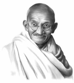 """""""The weak can never forgive. Forgiveness is the attribute of the strong."""" - Mahatma Gandhi"""