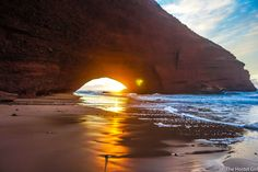 Named as one of The 40 Best Beaches on Earth by The Huffington Post, getting to Legzira Beach from Agadir was so much easier & cheaper than expected!