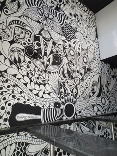 Mural wall, Wall paintings and Murals on Pinterest