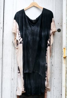 AllSaints DIY dress bleach