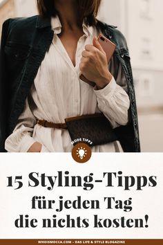 enthält unbeauftragte Werbung. Dass wir hier auf dem Modeblog Styling-Tipps lieben, habt ihr vielleicht schon mitbekommen. Egal ob unser ausführliches Mode-Hacks-Feature, unser vor kurzem erschienener Beitrag mit Beauty-Styling-Tipps für Faule oder der heutige Mode-Styling-Tipps-Guide – zu diesem Thema können wir aus dem Vollen schöpfen! Style Blog, Outfit Zusammenstellen, Fashion Displays, Fashion Beauty, Fashion Tips, Fashion Trends, Mode Blog, German Fashion, Cold Weather Fashion